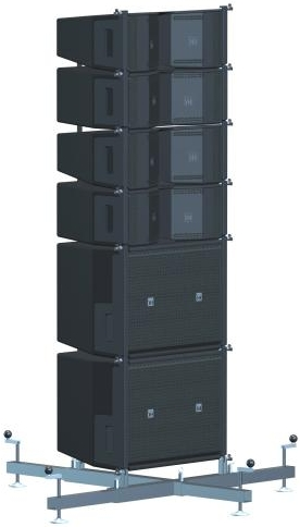Linearray groundstack